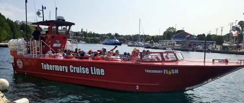 Tobermory Thrill tour